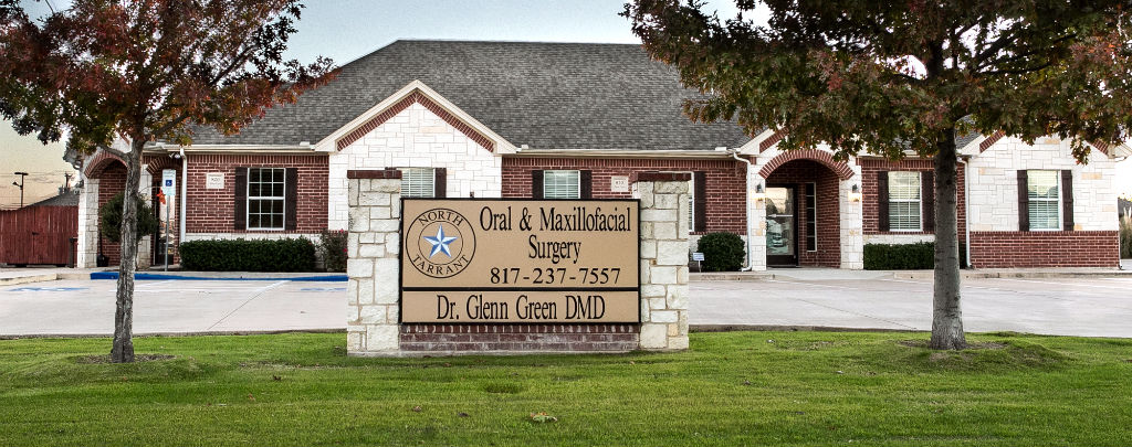 Street view of office of North Tarrant Oral & Maxillofacial Surgery, Fort Worth, TX